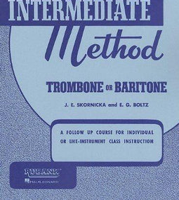 Rubank Intermediate Method - Trombone or Baritone