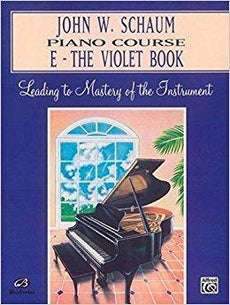 Schaum Piano Course E - The Violet Book