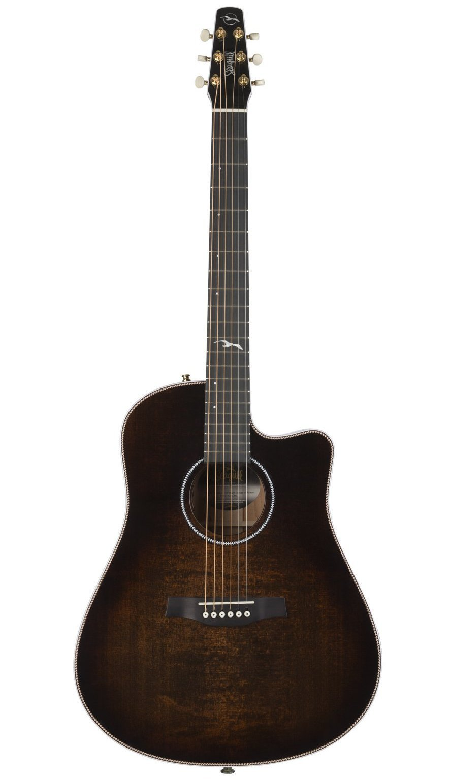 Seagull Artist Peppino Signature CW Bourbon Burst Guitar