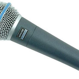 Shure BETA 58A Super-Cardioid Dynamic Vocal Microphone