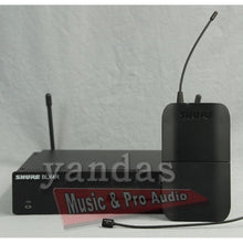 Shure BLX14R/W93 Wireless Omnidirectional Lapel Microphone System