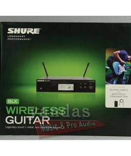 Shure BLX14R Wireless Guitar System | Includes WA302 Guitar Cable H10