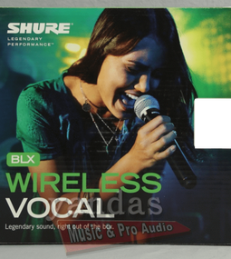 Shure BLX24/B58 Handheld Vocal Microphone Wireless System H10