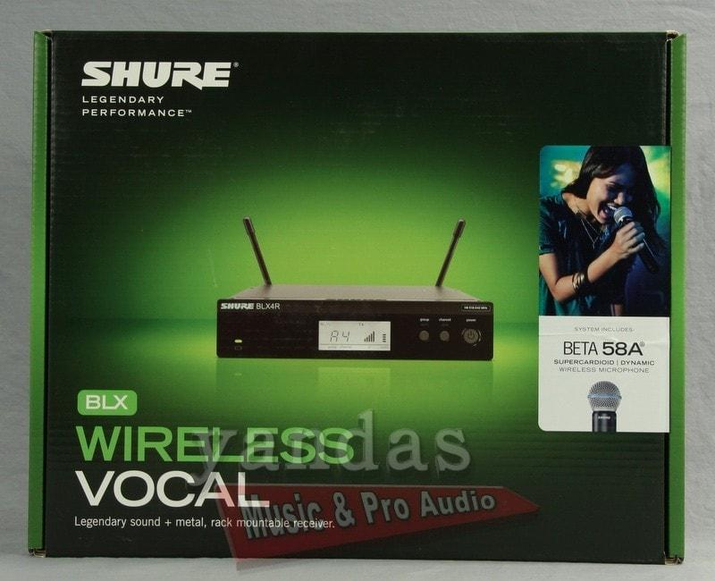 Shure BLX24R/B58 Handheld Wireless Microphone System H10