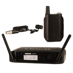 Shure GLX-D Digital Wireless System for WL185 Cardioid Lavalier Microphone