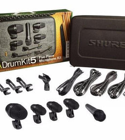 Shure PGA Drum Kit 5 | 5 Piece Drum Mic Kit