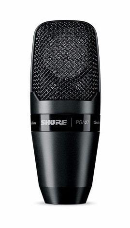 Shure PGA27-LC Side Address Microphone | Shock Mount & Case