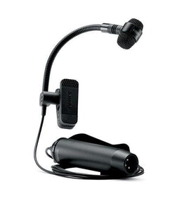 Shure PGA98H Gooseneck Instrument Microphone PGA98H-TQG (With TA4F Connector)