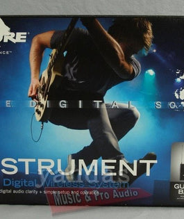 Shure PGXD14 Digital Guitar Wireless System | WA302 Instrument Cable