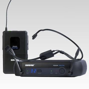 Shure PGXD14/PGA31 Digital Wireless Headworn Microphone System