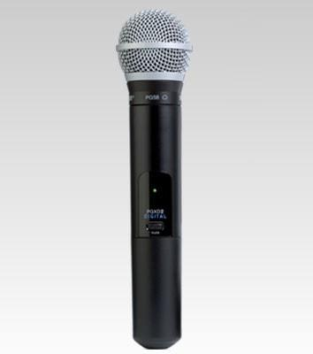 Shure PGXD2/PG58 Handheld Wireless Microphone Transmitter X8 (902-928MHz)