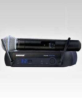 Shure PGXD24/BETA58 Digital Wireless Handheld Microphone System
