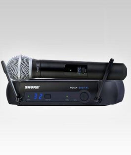 Shure PGXD24/PG58 Digital Wireless Handheld Microphone System