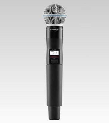 Shure QLXD2/B58 Handheld Wireless Microphone Transmitter G50