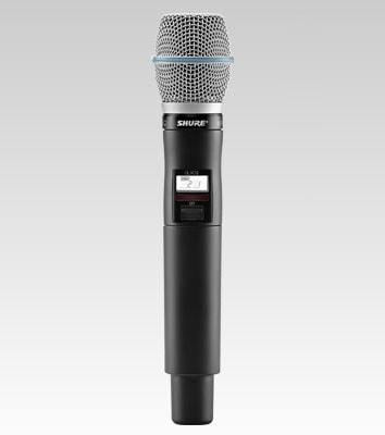 Shure QLXD2/B87A Handheld Wireless Microphone Transmitter G50