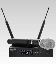 Shure QLXD24/B87A Handheld Wireless Microphone System G50
