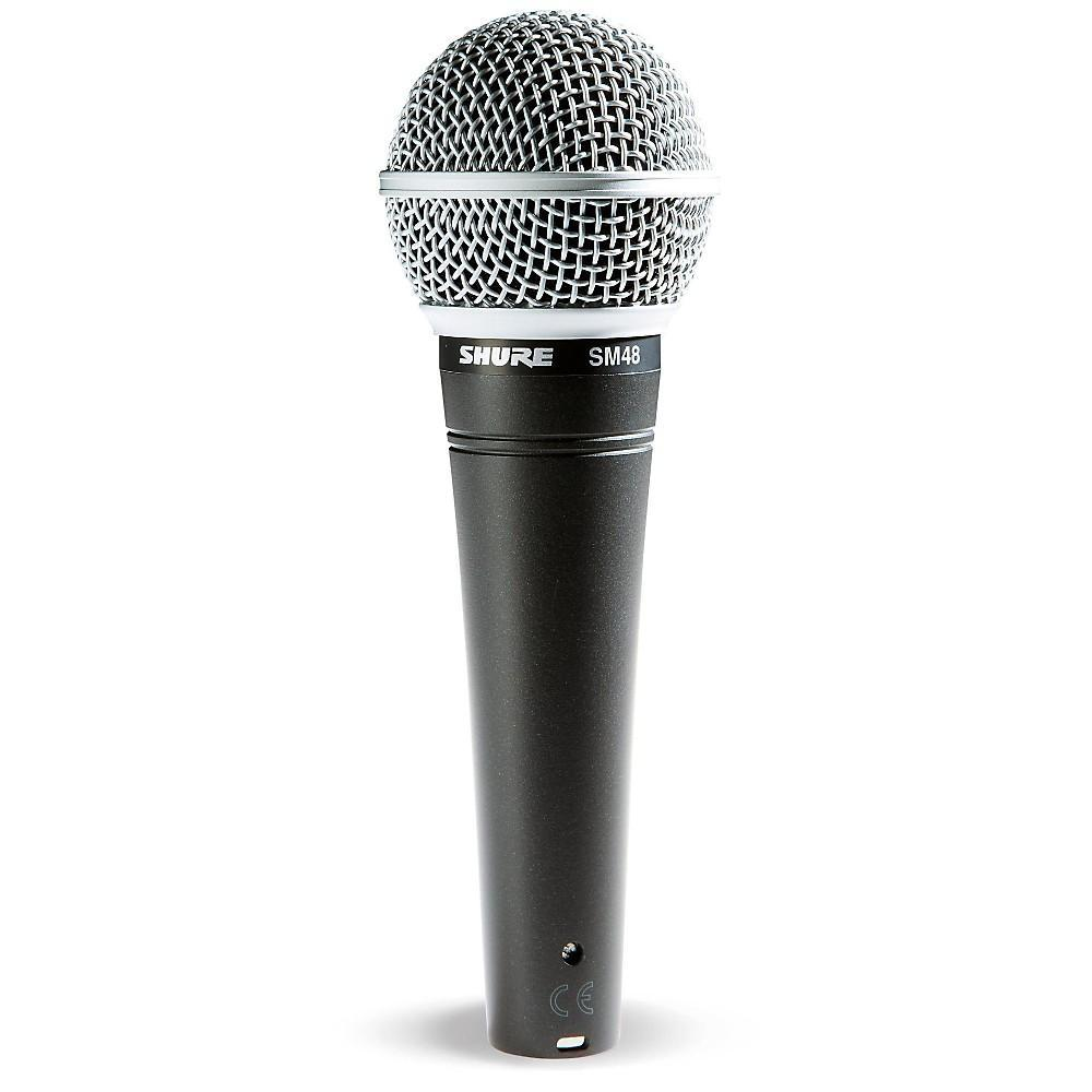 Shure SM48-LC Cardioid Dynamic Microphone