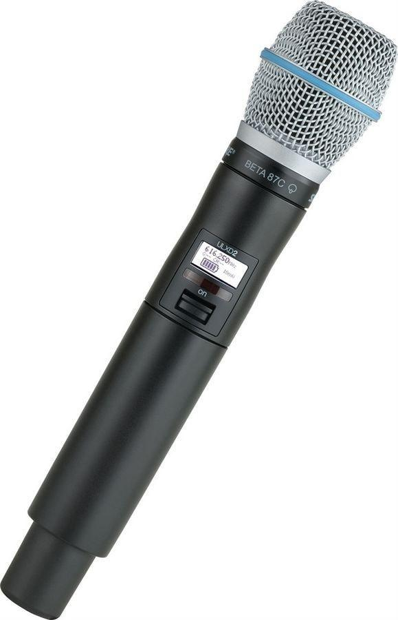 Shure ULXD2/B87C Wireless Handheld Microphone Transmitter G50