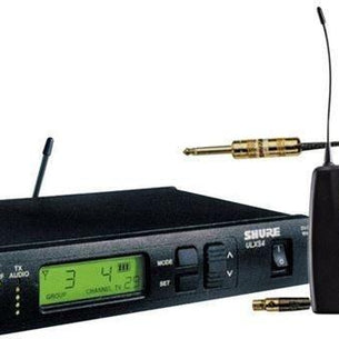 Shure ULXS14 Standard Guitar Instrument Wireless System | WA302 Instrument Cable G3