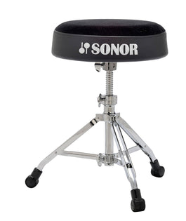 Sonor 6000 Series DrumThrone | Threaded Spindle Adjustment | Round Top