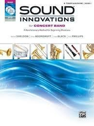 Sound Innovations for Concert Band Tenor Sax book 1
