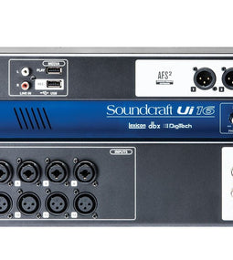 Soundcraft Ui16 16-Channel Digital Mixing System