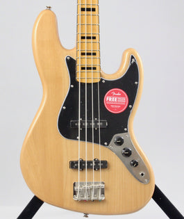 Squier Classic Vibe '70s Jazz Bass | Natural
