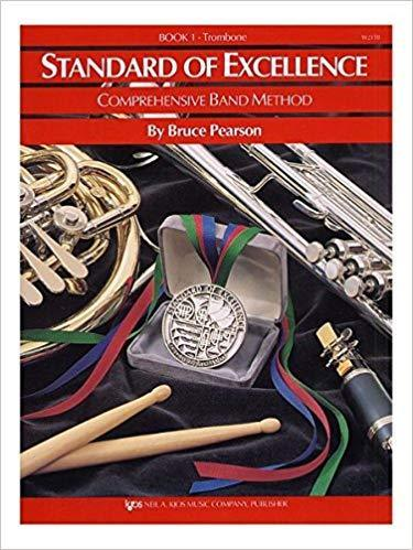 Standard of Excellence Book Only - Book 1 - Trombone