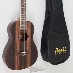 Store Demo | Amahi UK990 Classic Ebony Wood Ukulele Tenor