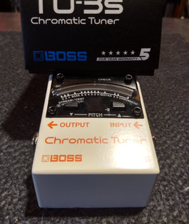 Store Demo | Boss TU-3S Chromatic Stompbox Tuner