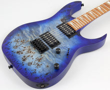 Store Demo | Ibanez RGRT621DPBBLF Electric Guitar Blue Lagoon Burst