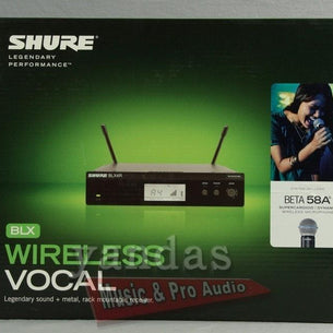 Store Demo | Shure BLX24R/B58 Handheld Wireless Microphone System | H9 H9