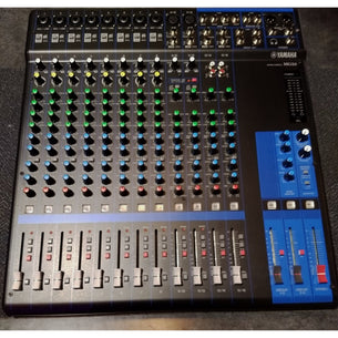 Store Demo | Yamaha MG16 16-Channel Pro Audio Mixing Console