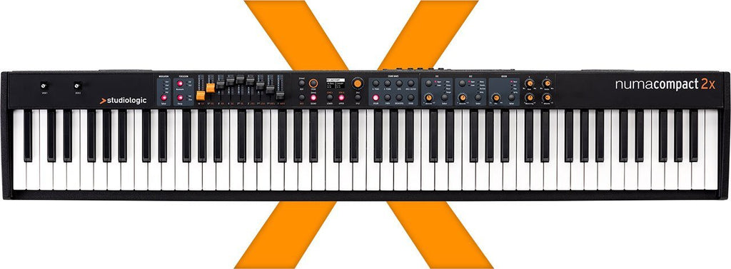 Studiologic Numa Compact 2x 88-key Semi-Weighted Keyboard with Aftertouch
