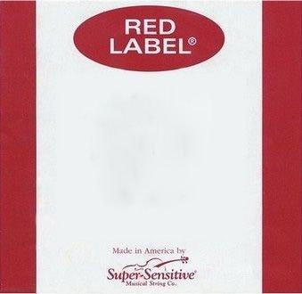 Super Sensitive Red Label 1/2 Size Violin Strings
