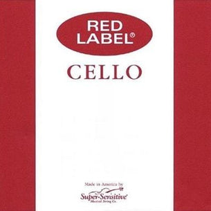 Super Sensitive Red Label 4/4 Full Size Cello Strings