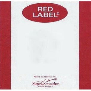 Super Sensitive Red Label Viola Replacement Strings | All Sizes
