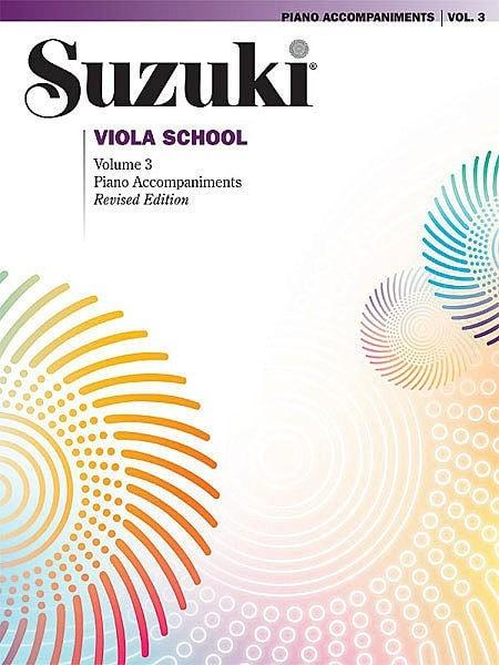 Suzuki Viola School | Volume 3 Piano Accompaniments