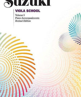 Suzuki Viola School | Volume 5 Piano Accompaniments