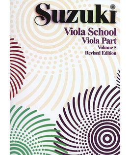 Suzuki Viola School | Volume 5 Viola Part | Revised Edition