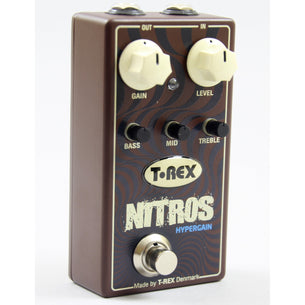 T-Rex Nitros Hypergain Distortion Pedal
