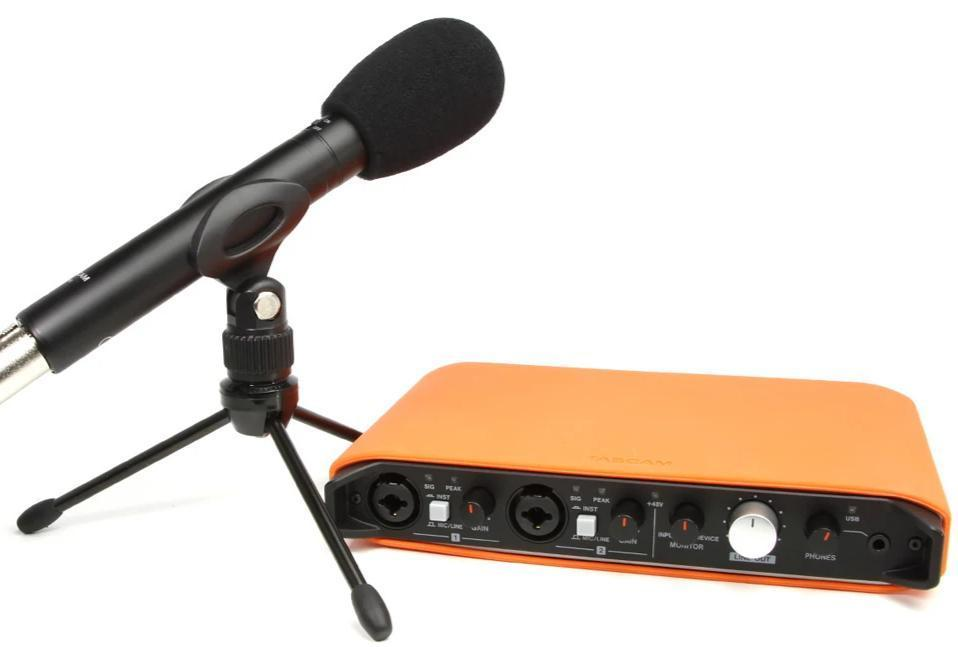 Tascam IXR TrackPack USB Recording Interface Bundle