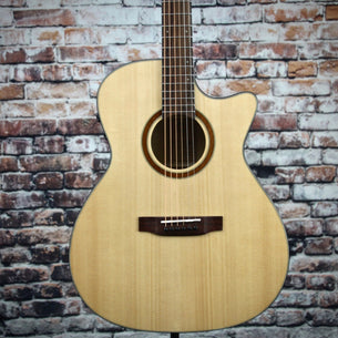 Teton STA130SMCENT Grand Auditorium Acoustic-Electric Guitar