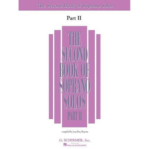 The Second Book Of Soprano Solos | Part II