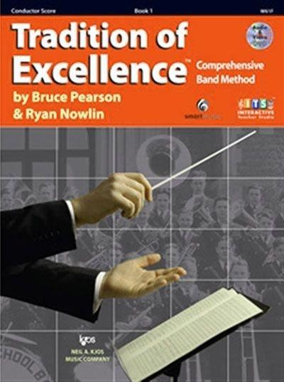 Tradition Of Excellence Book 1 - Conductor Score