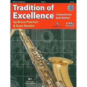 Tradition Of Excellence Book 1 - Tenor Sax