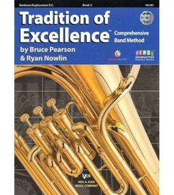Tradition Of Excellence Book 2 - Baritone B.C.