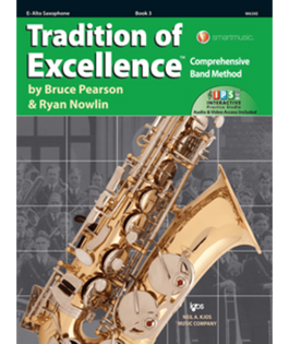 Tradition Of Excellence Book 3 - Alto Sax