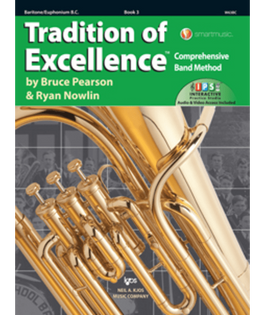 Tradition Of Excellence Book 3 - Baritone B.C