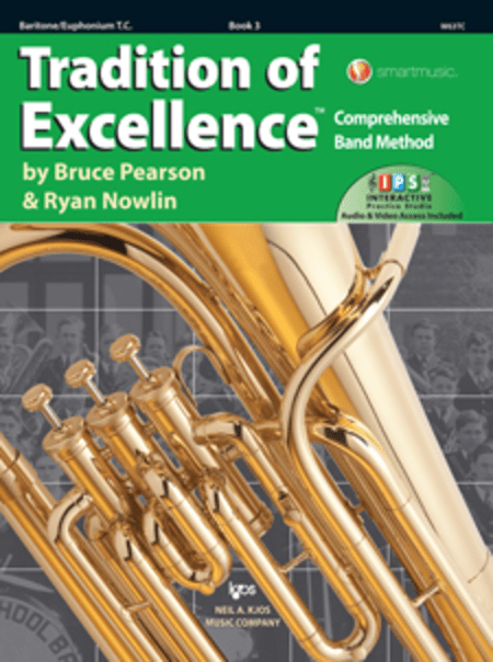 Tradition Of Excellence Book 3 - Baritone T.C